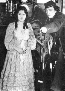 Marion Mack et Buster Keaton